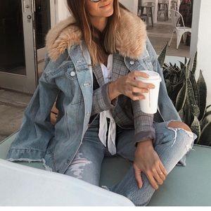 Tobi oversized jacket
